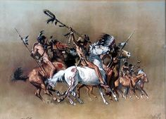 FRANK MCCARTHY (American, 1924-2002) The Unforgiven, original movie poster illustration, 1960 Oil on board 23. Description from pinterest.com. I searched for this on bing.com/images