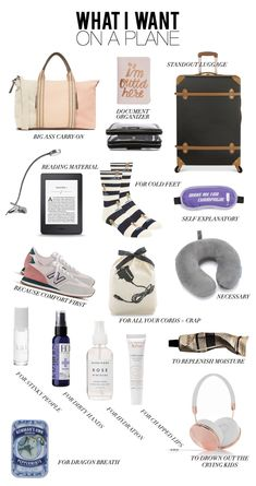Airplane essentials carry on bag essentials, airplane essentials, road trip Airplane Essentials, Backpack Essentials, Travel Bag Essentials, Holiday Essentials, Travel Necessities, Road Trip Essentials, Summer Essentials, Travel Packing Checklist, Road Trip Packing