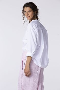 100WHITE Types Of Trousers, Hemline, Bell Sleeve Top, Spring Summer, Beauty, Collection, Tops, Shirts, Women