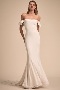 Kemp Gown From Bhldn Wedding Gowns Dress Necklines Trends