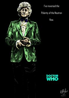 The Third Doctor - colour by The-13th-Doctor.deviantart.com