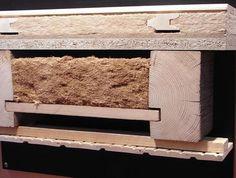 Aufbau einer Holzbalkendecke mit Dämmung