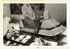 Vintage Brochures And Snowmobiles On Pinterest