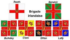 Irish Brigade (France) - Wikipedia, the free encyclopedia Louis Xiv, The Wild Geese, British Army Uniform, Seven Years' War, French Revolution, American Revolution, Mystery Of History, French Army, American War