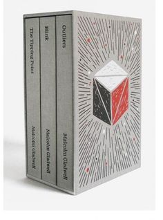–Brian Rea illustrated three of Malcolm Gladwell's most popular books for a new boxed-set, Malcolm Gladwell Collected.