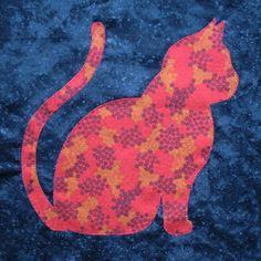 Cat block by Kay Mackenzie