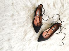 Gorgeous Steve Madden lace up flats