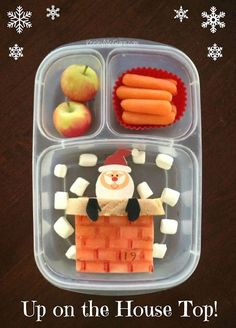 {Christmas Countdown} Advent Lunches 2014: Week 2 - packed in an @EasyLunchboxes container