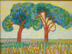 Jacoba van Heemskerck Twee Bomen ca. 1910
