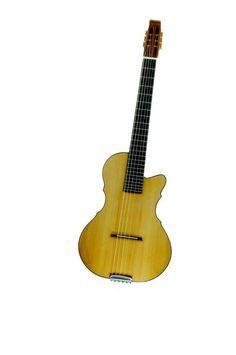 Viktorian Guitars Custom Shop Ishay Prototype 6-string traveling guitar