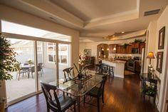 Tray ceilings add a touch of elegance. #CottagesatPryseFarm