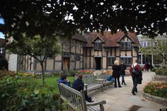 C A B Stratford Upon Avon William shakespeare, Church and Walks on Pinterest