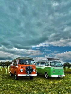 Pair of VW Campers