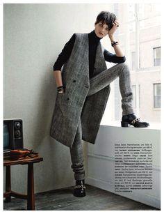 Сherchez l'homme...............Vogue Germany november 2013