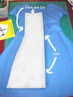 crafting the apron