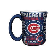Chicago Cubs 17-Ounce Sculpted Spirit Mug  #ChicagoCubs #Cubs #FlyTheW #MLB #ThatsCub