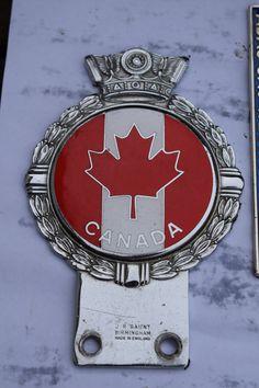 J.R. Gaunt badge of Canada