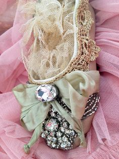 Embellished Ballet Slipper Ornament