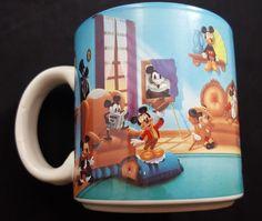 Disney Mickey Mouse Through The Years Mug #Disney