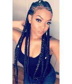 What are the box braids? We braid hair since the dawn of time, so we found traces of braided hairstyles dating back to Prehistory! After a dazzling comeback in the the fashion of braids (or rather mats) does not seem… Continue Reading → Box Braids Hairstyles, African Hairstyles, Girl Hairstyles, Hairstyles 2018, Pretty Hairstyles, Oscar Hairstyles, Hairstyle Braid, Teenage Hairstyles, Everyday Hairstyles