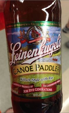 Leinenkugel Canoe Paddler- Wouldn't buy another 6 pack of it but if it was on tap I would have it again.