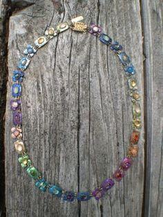 Holly-Yashi-Retired-Romance-Necklace-Colorful-Niobium-and-Gemstones