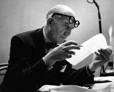 Robert Doisneau : Les Architectes : Le Corbusier (20 octobre 1953)