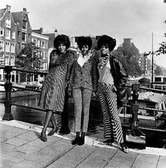 "1964. The Supremes in Amsterdam. The Supremes performed at Theatre Carre in Amsterdam where they sang: ""When The Lovelight Starts Shining Through His Eyes"" and ""Baby Love"" from the album ""Where Did Our Love Go"". They also sang ""Let Me Go the Right Way"" their first album ""Meet The Supremes"", released in 1962. Photo Nico v/d Stam #amsterdam #1964 #thesupremes"