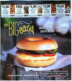 Brueggers Bagels print insert side 2