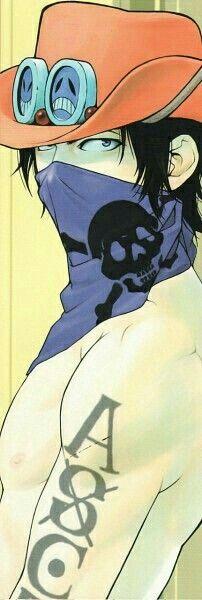 Portgas D. Ace, mask; One Piece