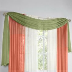 Jcp Home™ Snow Voile Semi Sheer Scarf Valance   Jcpenney | Wedding |  Pinterest | Scarf Valance, Valances And Valance