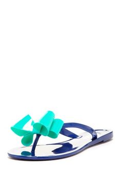 4aac33cfd63c Big Bow Jelly Sandal Jelly Sandals