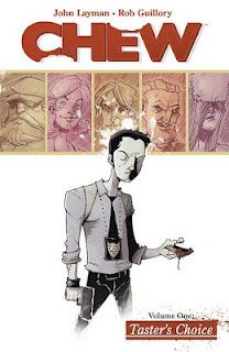 Chew, John Layman and Rob Guillory,  graphic novels, comics, science fiction, mystery
