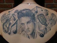 Elvis : Tattoos :464 x 350   166KB   galleryoftattoosnow.com