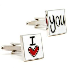 I LOVE YOUR Cufflinks for Wedding