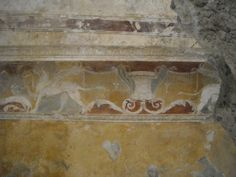Stucco in Forum Baths at Pompeii (between 62 and 79 AD) | Flickr - Photo Sharing!