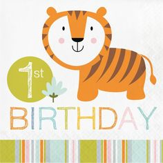 Jungle Safari Lunch Napkins for Birthday Party Premium paper lunch napkins. Approximately x folded Made in the USA Fun Jungle Safari Theme Birthday. Fast shipping See our store for many other coordinating Safari/Jungle themed products Safari Party, Jungle Theme Parties, Jungle Theme Birthday, Birthday Lunch, Jungle Party, First Birthday Parties, Jungle Safari, Birthday Celebration, Jungle Animals