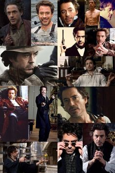 I was bored so I watched Sherlock Holmes for the millionth time (just to drool at Robert and Jude, lol).