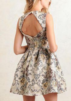 Grand Castle Jacquard Dress | Modern Vintage New Arrivals | Ruche