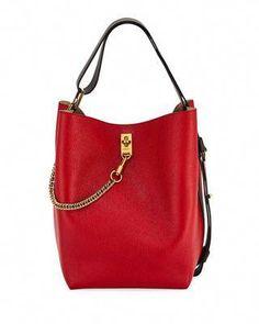 421a505727 Givenchy GV Medium Leather Bucket Bag  Designerhandbags Monogram Canvas