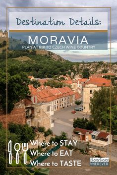 Visit Wine Country in Czech Republic's Moravia region. Download the free guide to take with you!