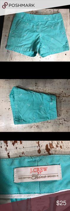 Selling this Mint Anchor Shorts on Poshmark! My username is: mscooper94. #shopmycloset #poshmark #fashion #shopping #style #forsale #J. Crew #Pants