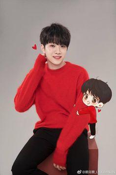 Cute Korean Boys, Cute Boys, Daniel K, Celebrity Biographies, Guan Lin, Lai Guanlin, Flower Aesthetic, Cute Chibi, K Idol