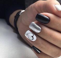 nails one color gel / nails one color ; nails one color simple ; nails one color acrylic ; nails one color summer ; nails one color winter ; nails one color short ; nails one color gel ; nails one color matte Gel Nail Designs, Cute Nail Designs, Heart Nail Designs, Black Nail Designs, Awesome Designs, Glitter Nail Designs, Bridal Nails Designs, New Years Nail Designs, Latest Nail Designs