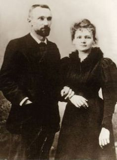 Pierre & Marie Currie As A Young Couple In Paris. They were so beautiful.