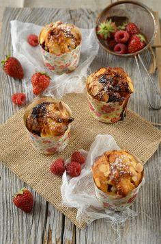 Muffins fruits rouges et chocolat blanc - Tangerine Zest