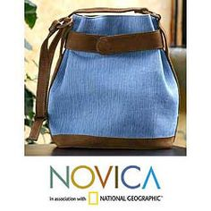 @Overstock - Talented Maya women sponsored by the Pro-Teje Committee create this gorgeous bag. Handmade of cotton and leather, this shoulder bag features a magnetic button closure.http://www.overstock.com/Worldstock-Fair-Trade/Cotton-and-Leather-Evening-Dew-Shoulder-Bag-Guatemala/5261223/product.html?CID=214117 $67.49
