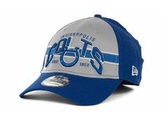 Indianapolis Colts NFL New Era 39Thirty Stretch Fitted Hat New Size S/M #NewEra #IndianapolisColts