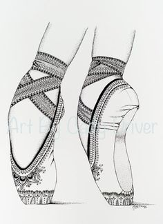 Proper Fifth IBA Ballet Shoes Printable by ExquisiteInkByCady