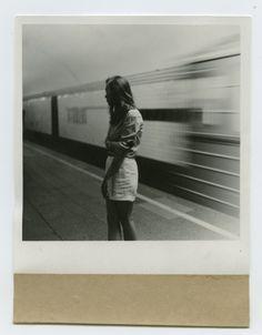 motion blur, polaroid